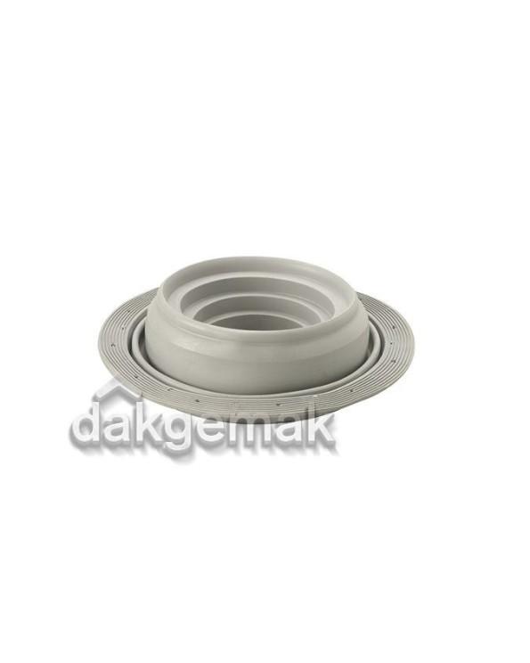 Flexub Dakdoorvoermanchet 110-200 grijs
