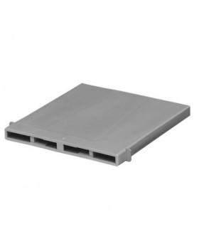 Stootvoegventilatierooster betonsteen-/maasformaat - grijs