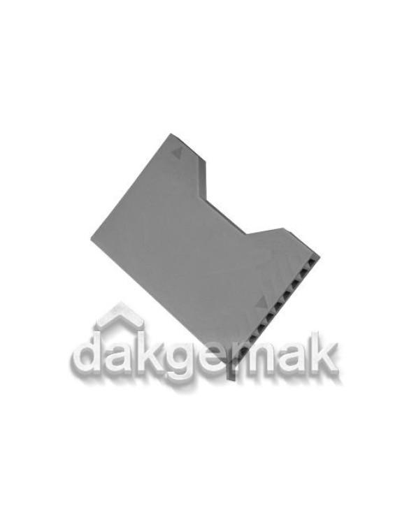 Stootvoegventilatierooster KS DF grijs