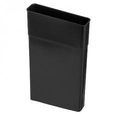 VloerVent - Verlengstuk verticaal - 150 mm - zwart