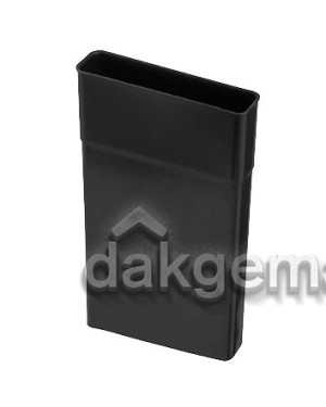 VloerVent Nieuwbouw Verlengstuk verticaal 150mm zwart