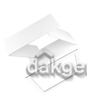 Interieur afwerkrand - Purilan Euro/Plus dakraam - plano 200mm - wit
