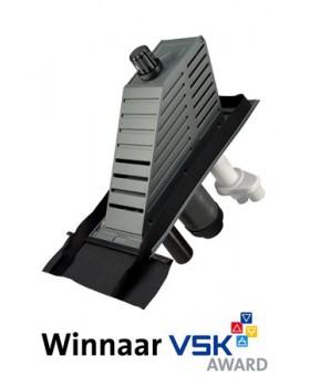 Kompakt Schoorsteen 2.0 - 15°-55° - RGA/LTV, MV/WTW ø150mm en riool