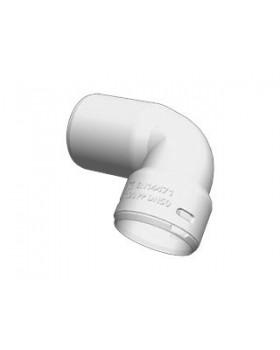 Koppelstuk bocht 90° - spie Ø60/flex 50 - PPTL