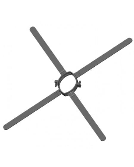 Afstandhouder - flex 50 - kunststof (6 st.)