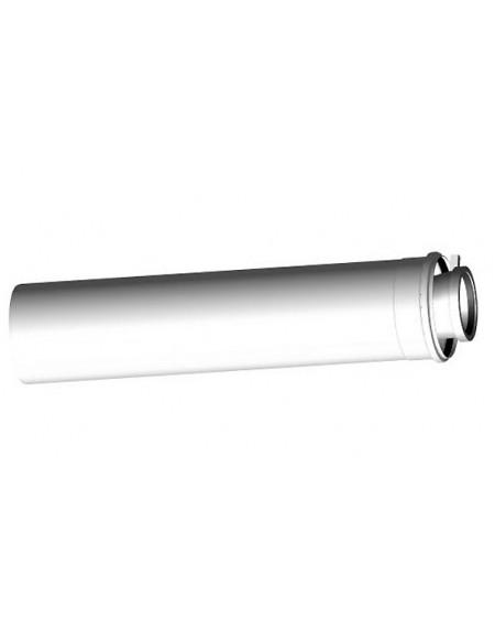 Aansluitleiding (half) CLV (met vergr) - Ø80/125 L580MM