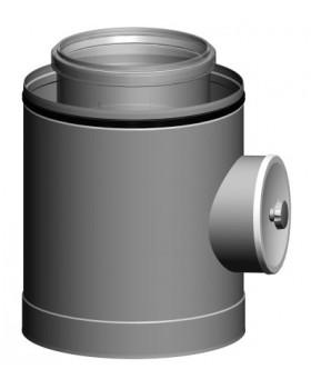 Inspectiestuk CLV -  Ø125/200 - PPTL/metaal