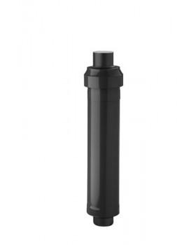 Dakdoorvoer CLV  - Ø125/200 - PP/metaal - zwart