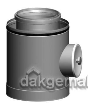 Inspectiestuk CLV -  Ø160/250 - PPTL/metaal