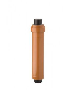 Dakdoorvoer CLV  - Ø160/250 - PP/metaal - terra