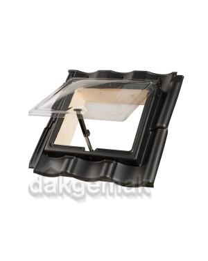PE Dakraam Verbeterde Holle 6-pans BC2 zwart