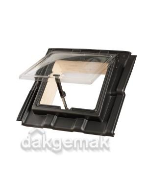 PE Dakraam Verbeterde Tuile du Nord 6-pans FB2 zwart