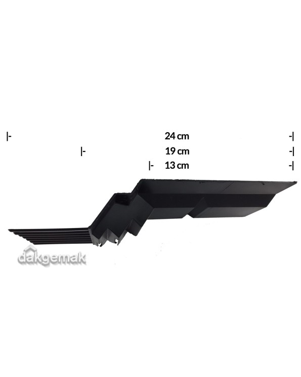 Airtec Combiprofiel 190mm x 1085mm zwart