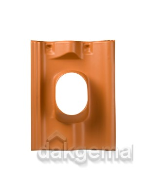 Dakdoorvoerpan 131 Sneldek 5-25° 1-pans SND terracotta