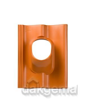 Dakdoorvoerpan 131 Sneldek 25-45° 1-pans SND terracotta