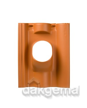 Dakdoorvoerpan 131 Neroma 25-45° 1-pans NER terracotta