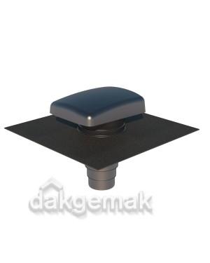 RVT 200 Ontluchtingspan Universeel grijs Ubiflex-zwart