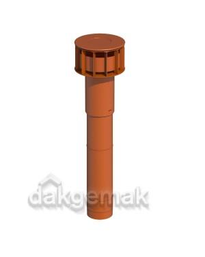 MultiVent Basis Dakdoorvoer 131 980mm terracotta