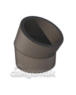 Aerfoam geïsoleerd leidingsysteem Bocht 30° EPE 150 grijs