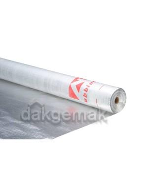 Multibar Folie dampdicht ALU 1,5m x 50m