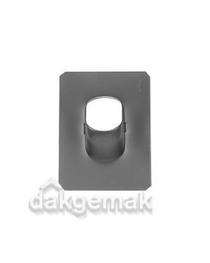 Dakdoorvoerpan 131 Shingles, leien en bitumen (O/N) 25-45° O/N zwart