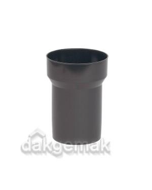 Verloop KS 131-110 zwart voor dakdoorvoer 131