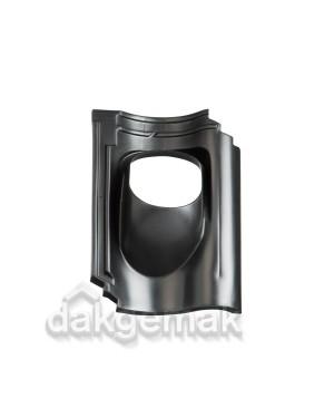 Dakdoorvoerpan 131 OVH Van Oordt/KDN206 25-45° 1-pans BIJ zwart