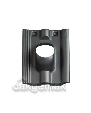 Dakdoorvoerpan 131 Finkenberger 25-45° 1-pans FR zwart