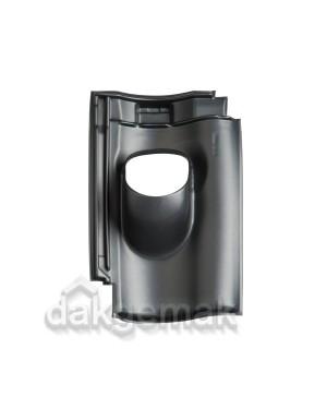 Dakdoorvoerpan 131 Nelskamp - NH 10 25-45° 1-pans NH10 zwart