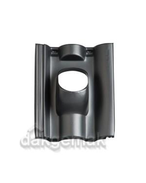Dakdoorvoerpan 131 Neroma 25-45° 1-pans NER zwart