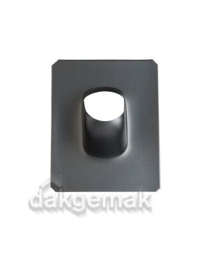Dakdoorvoerpan 131 Shingles, leien en bitumen 5-25° O/N zwart