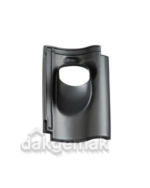 Dakdoorvoerpan 131 Renova 25-45° 1-pans REN zwart