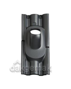 Dakdoorvoerpan 131 Neroma 35-55° 2-pans NER zwart