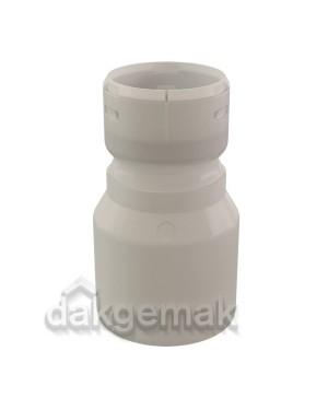 Rolux Flex Koppelstuk Flex-60/spie-80 PP 60 transparant