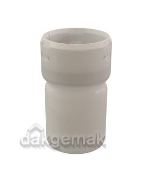 Rolux Flex Koppelstuk Flex-60/spie-60 PP 60 transparant