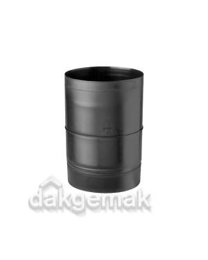 Verlengstuk Onderdaks 150mm KS zwart voor dakdoorvoer 131