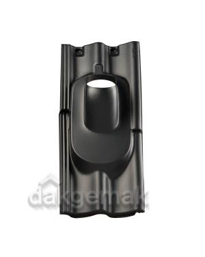 Dakdoorvoerpan 131 Sneldek 35-55° 2-pans SND zwart