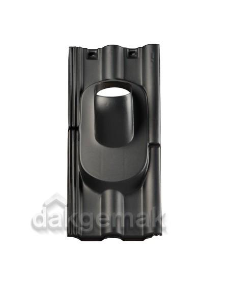 Dakdoorvoerpan 131 Finkenberger 35-55° 2-pans FR zwart