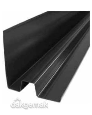 Verholengoot type 140-150 bxhxl = 14x15x150 cm PVC zwart